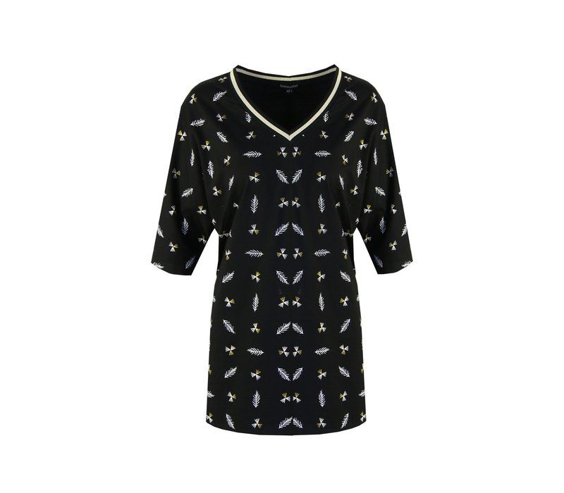Mirjam T-shirt zwart