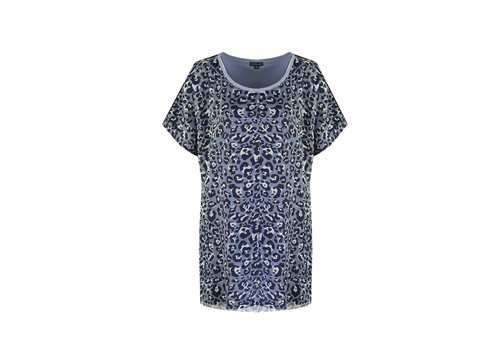 Ankie top blauw