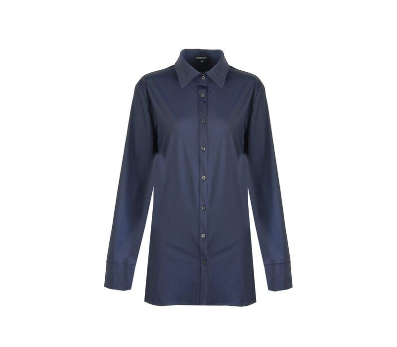 Anne blouse blauw