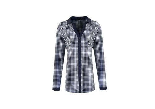 Dewi blouse blauw