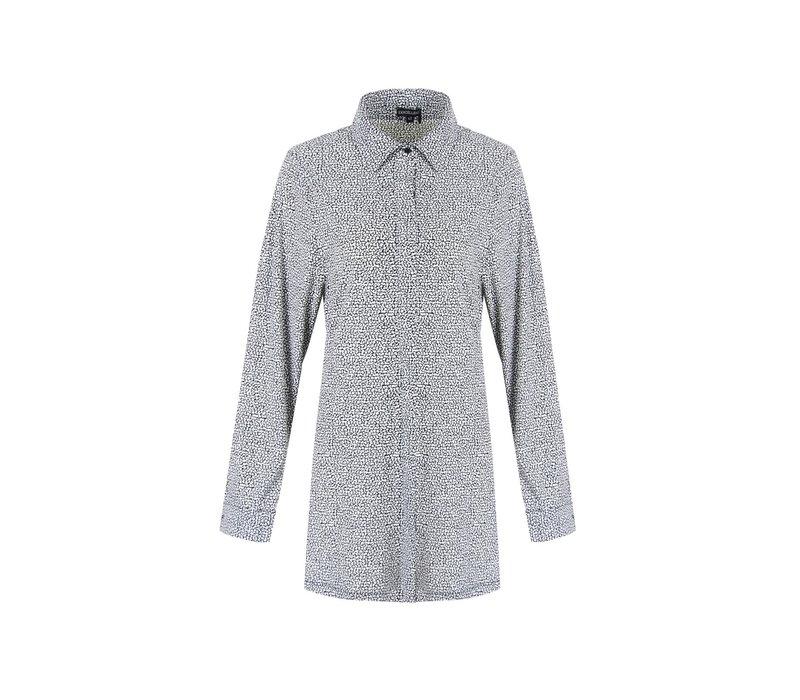 Julia blouse zwart/wit