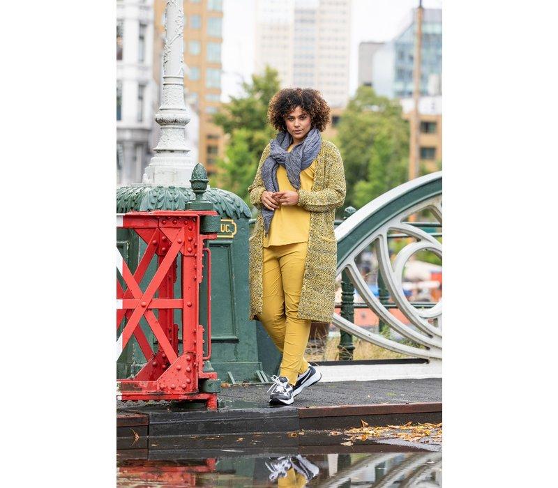 Maria broek geel