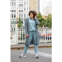 Maria broek blauw/groen