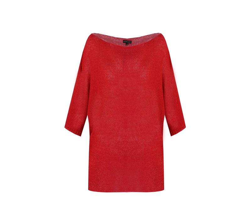 Charlie trui rood