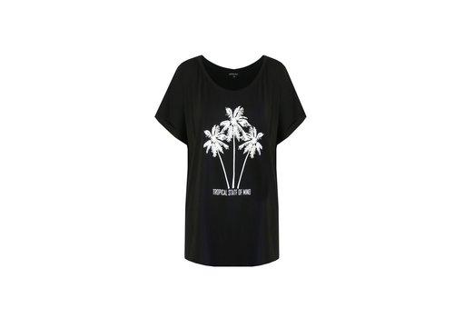 Palmtree T-shirt zwart