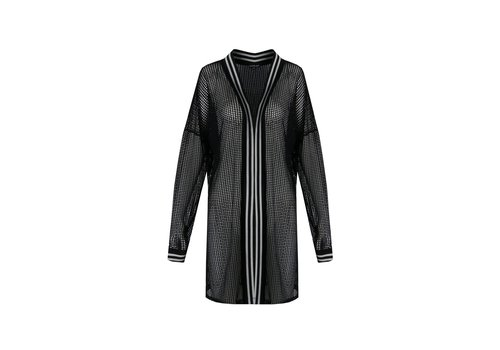 Lotte vest zwart
