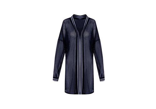 Lotte vest blauw