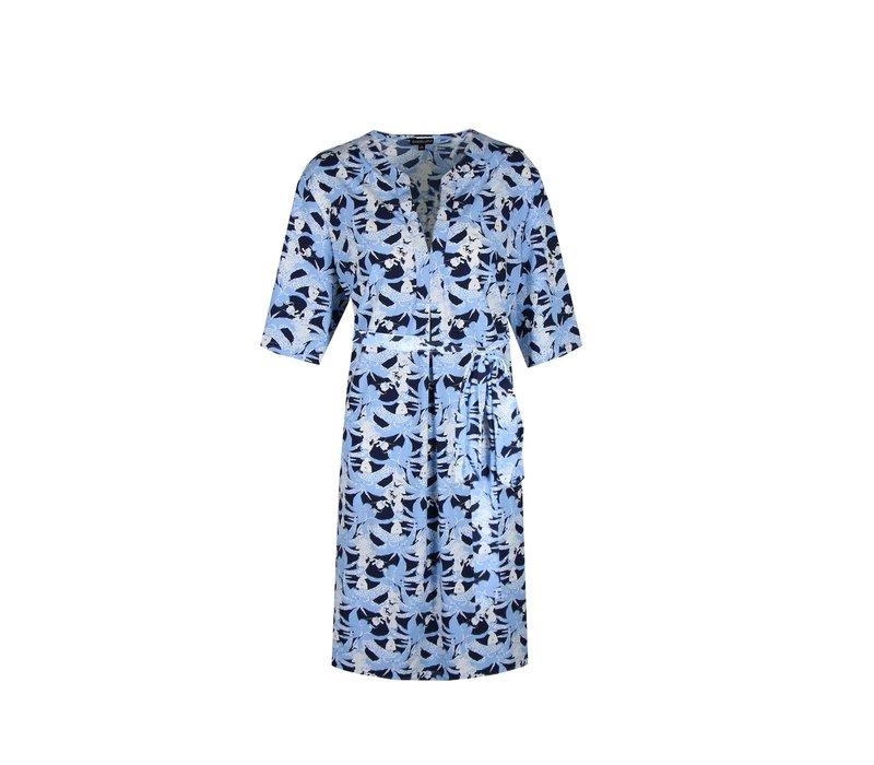 Elly jurk lichtblauw