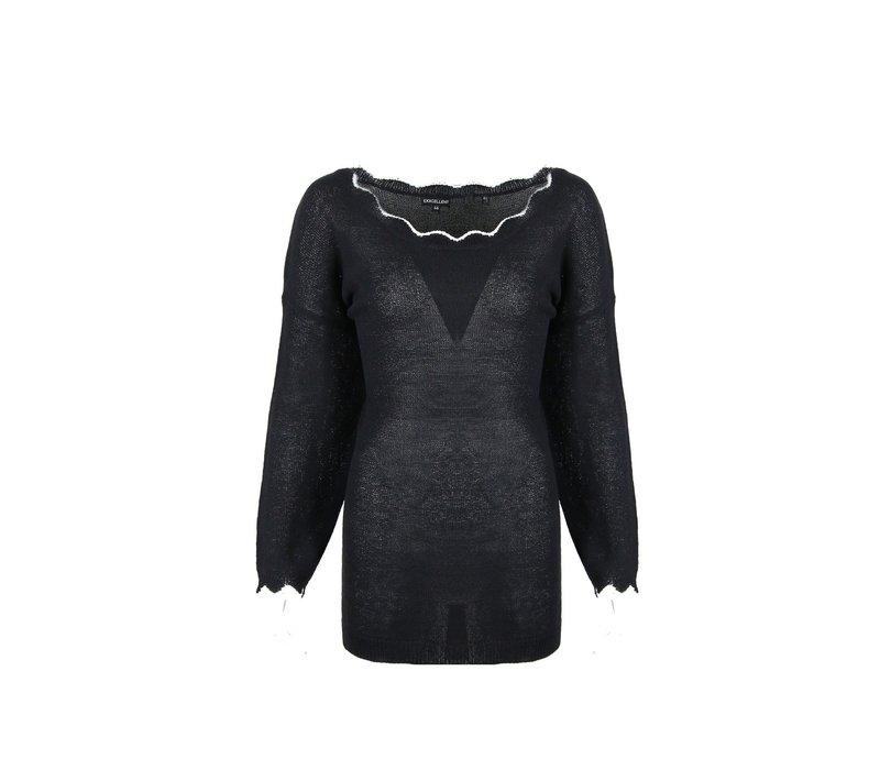 Halette trui zwart