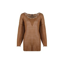 Halette trui suede roest