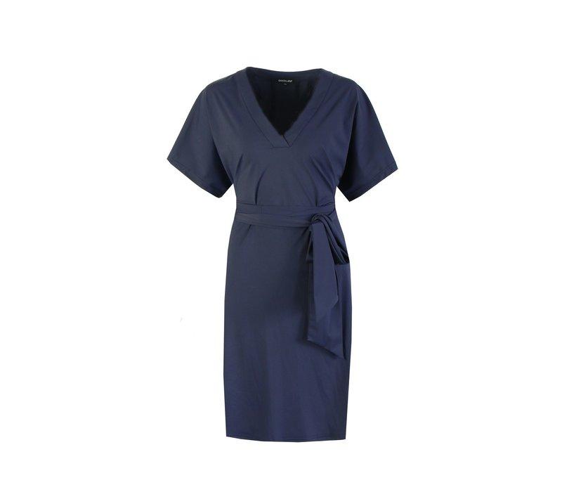 Hailey jurk blauw