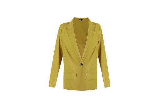 Louise blazer geel