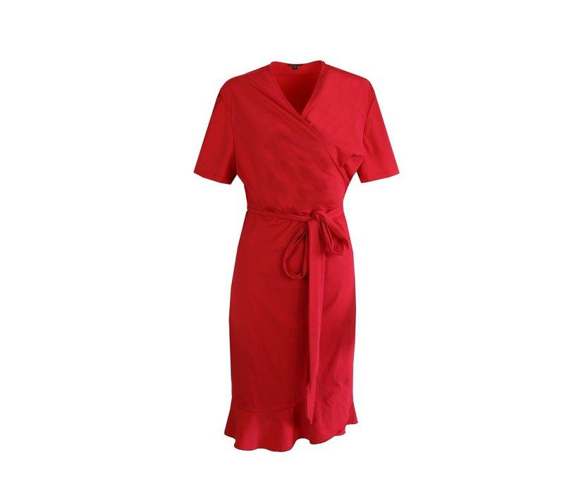 Zara jurk rood