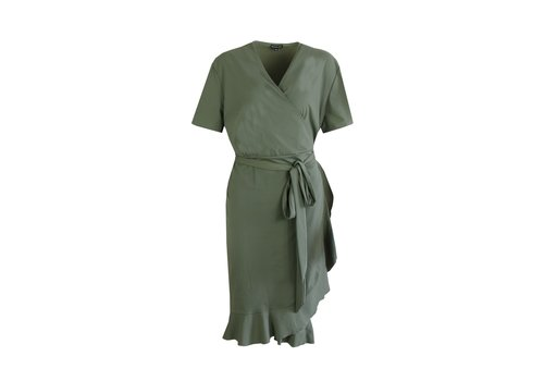 Zara jurk groen