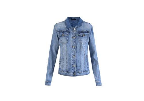 Nora jacket denim blauw