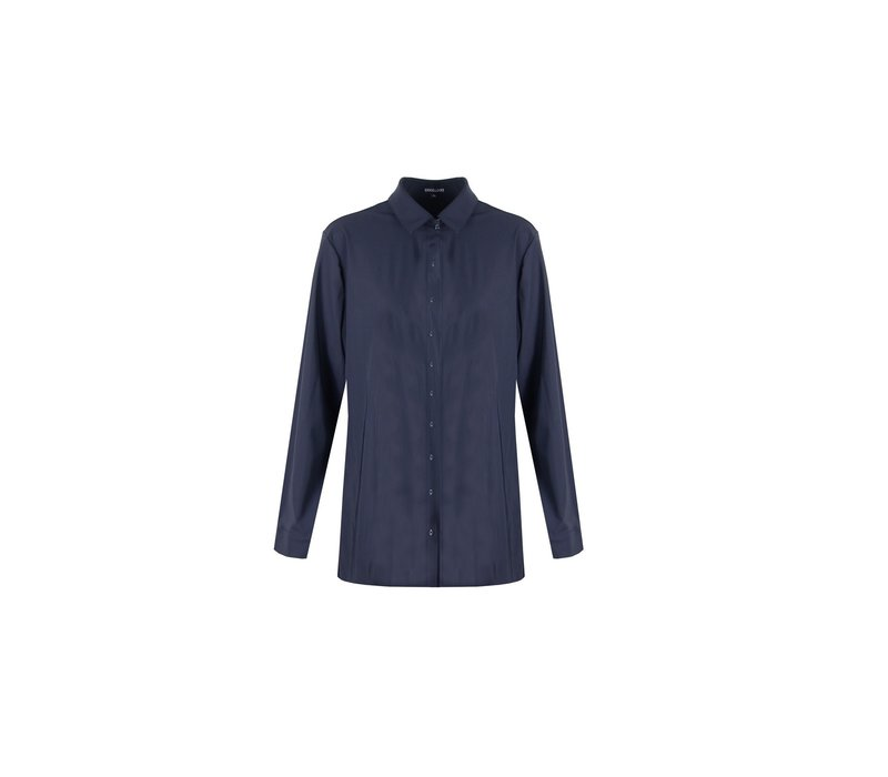 Anne blouse donkerblauw
