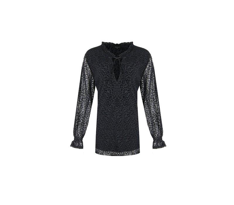 Joyce blouse zwart
