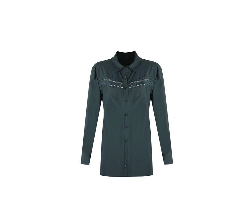 Karen blouse groen