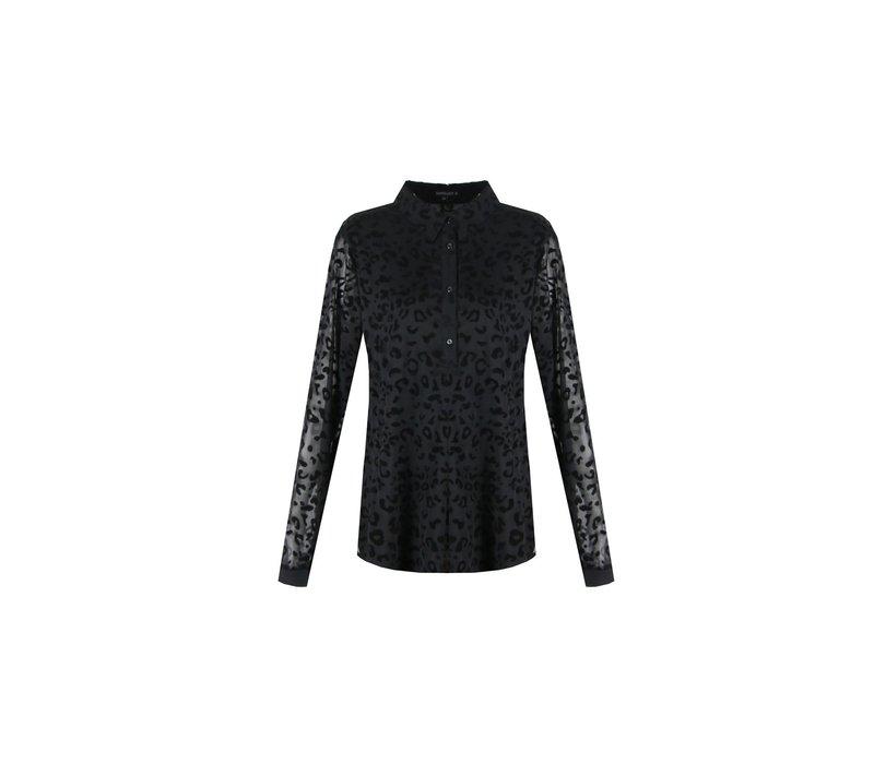 Kisha blouse zwart