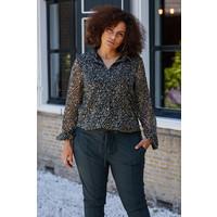 Kimberley blouse groen mix