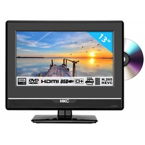 HKC 13M4C 13,3 inch Full HD LED tv/DVD