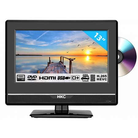 HKC HKC 13M4C 13,3 inch Full HD LED tv/DVD