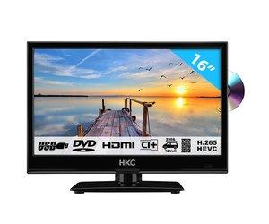 HKC 16M4C 15 6 inch HD-ready LED tv/DVD