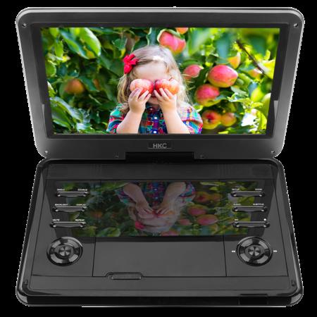 HKC HKC D12HM01 12inch draagbare DVD-speler