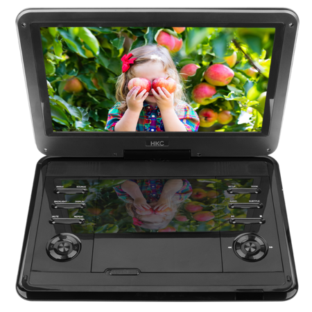 HKC HKC D12HM01 12inch portable DVD player
