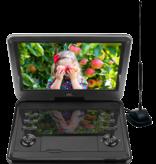 HKC D12HBDT 12inch draagbare DVD-speler met ingebouwde TV-tuner