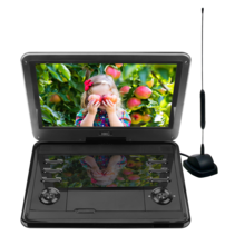 D12HBDT 12inch DVD player with built-in TV tuner