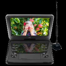 D12HBDT 12inch DVD-speler met ingebouwde TV-tuner