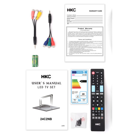 HKC HKC 24C2NB 24 inch HD-ready LED tv
