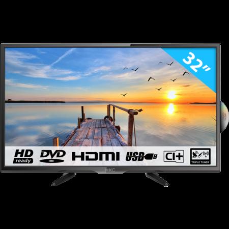 HKC 32C9A-DVD 32 inch HD-ready LED tv met DVD speler