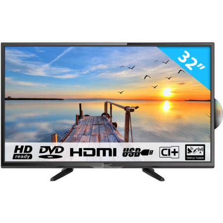 HKC 32C9A-DVD 32 inch HD-ready LED tv with DVD player