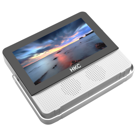 HKC HKC P7H6 - 7 inch HD Portable monitor 1x HDMI and 1x USB with built-in battery