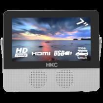 HKC P7H6 7inch draagbare tv