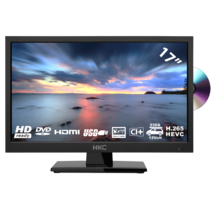 HKC 17H2C 17,3 inch HD-ready LED tv/DVD