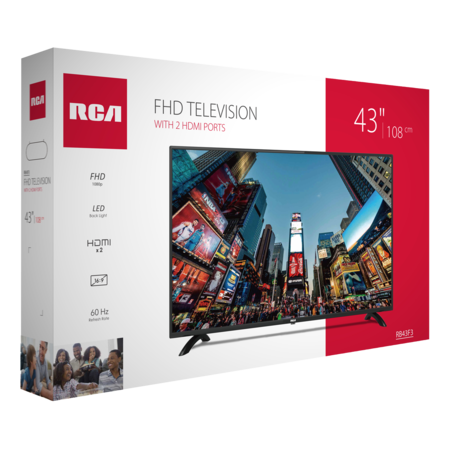 RCA RB43F3 43 inch Full HD LED TV with HDMI/USB connection
