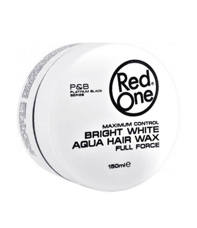 Red One Aqua Wax White