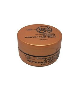 Red One Argan Matte Hair Wax