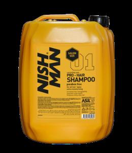 Nish Man Shampoo 5 Liter