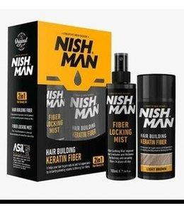 Nish Man Hair Building Fibers