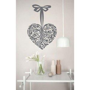 Wall Decal Heart Design