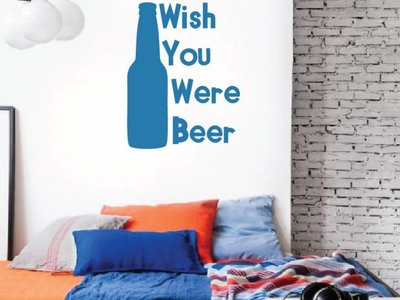 Wall Decal Beer