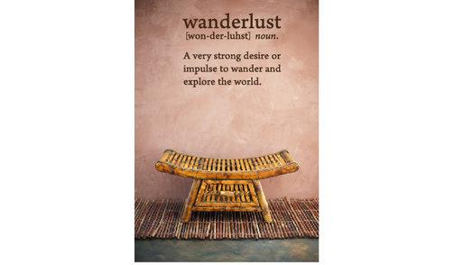 Wall Sticker - Wanderlust