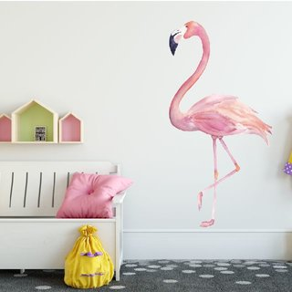 Wandaufkleber - Flamingo