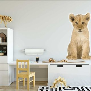 Muursticker - Leeuw