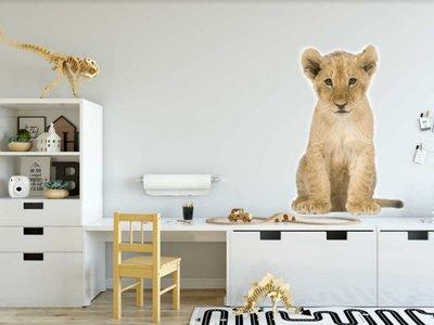 Wandaufkleber Lion