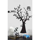 Wall Decal Tree with your own name 3